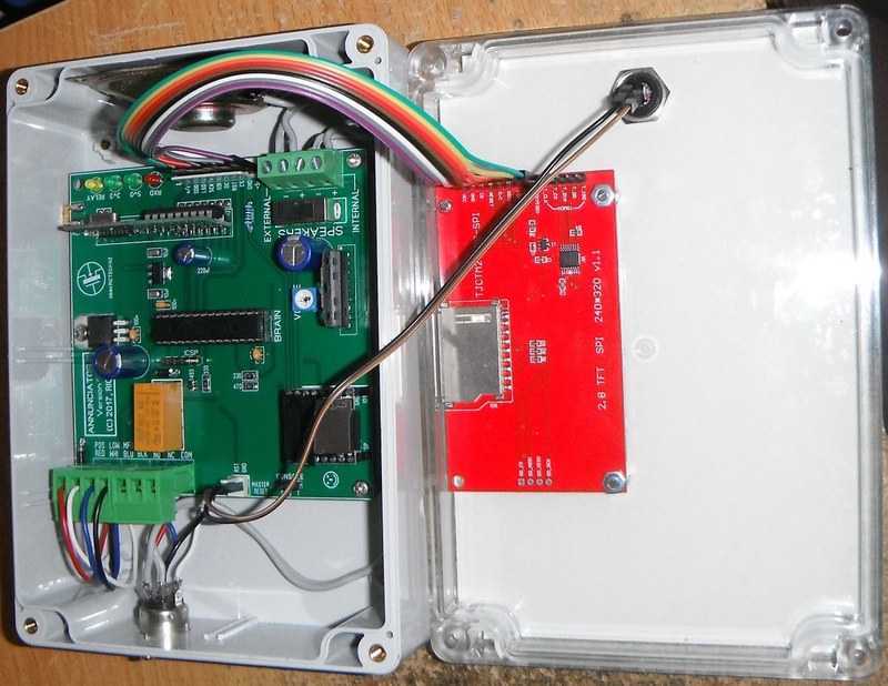NCS15 15-channel annunciator(inside)