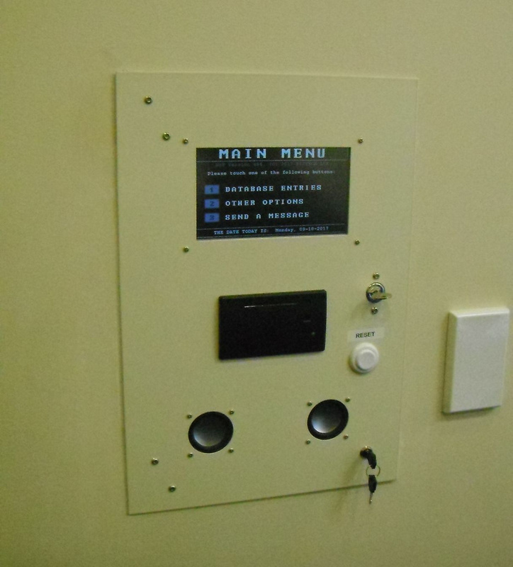Village-based system touch-panel