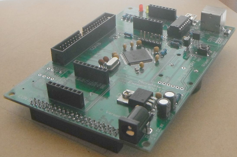 New 1D board with 1455 USB chip installed